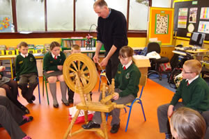 Primary School Spinning Class