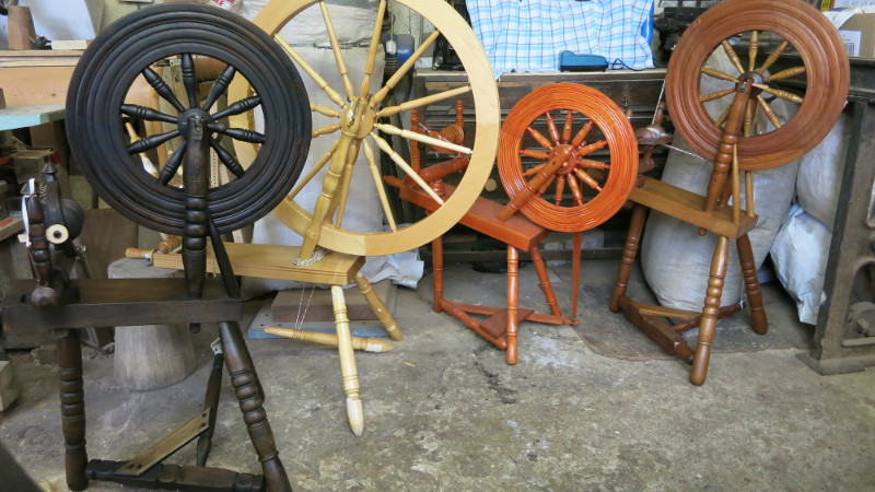Restored Spinning Wheel